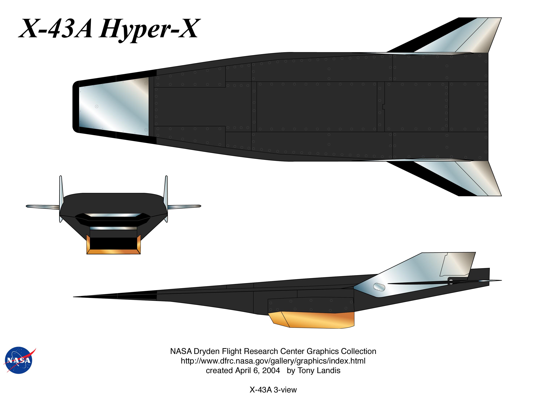 NASA Dryden Hyper-X/X-43A Graphics Collection