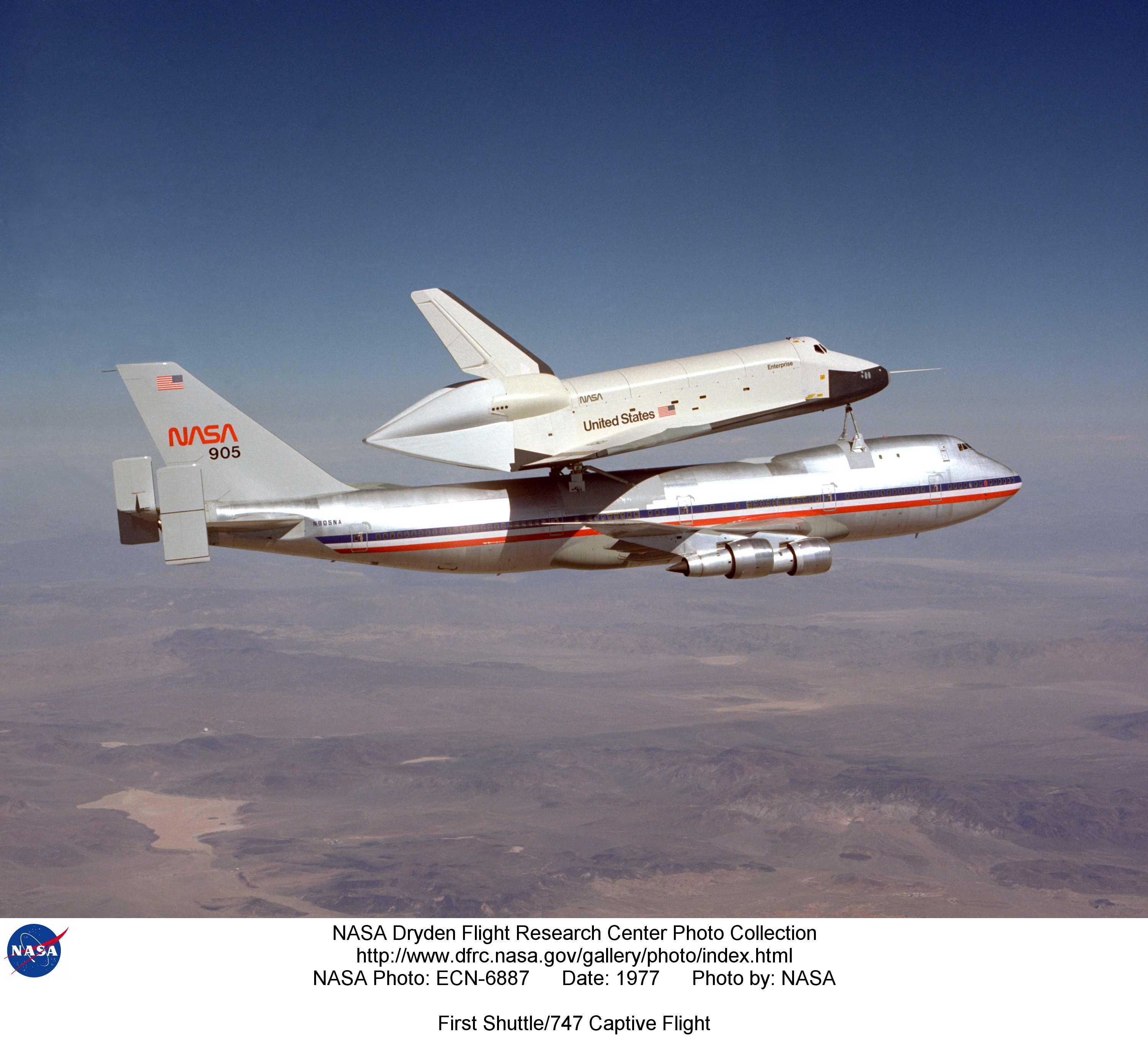 NASA Dryden Space Shuttle Approach and Landing Tests (ALT ...