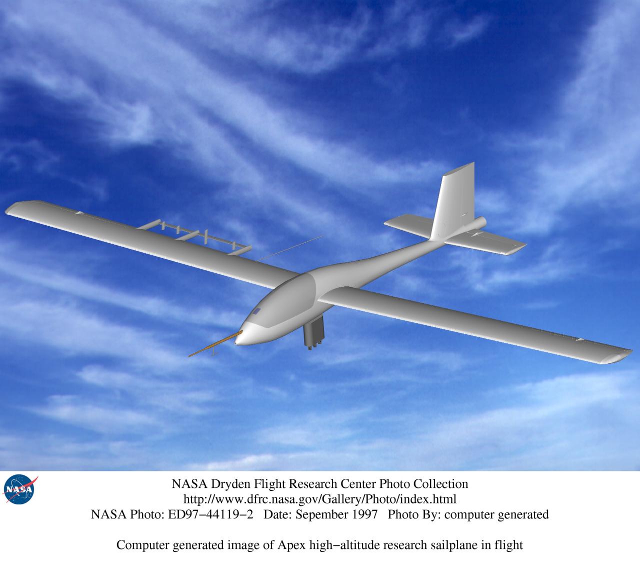 nasa high altitude aircraft - photo #25