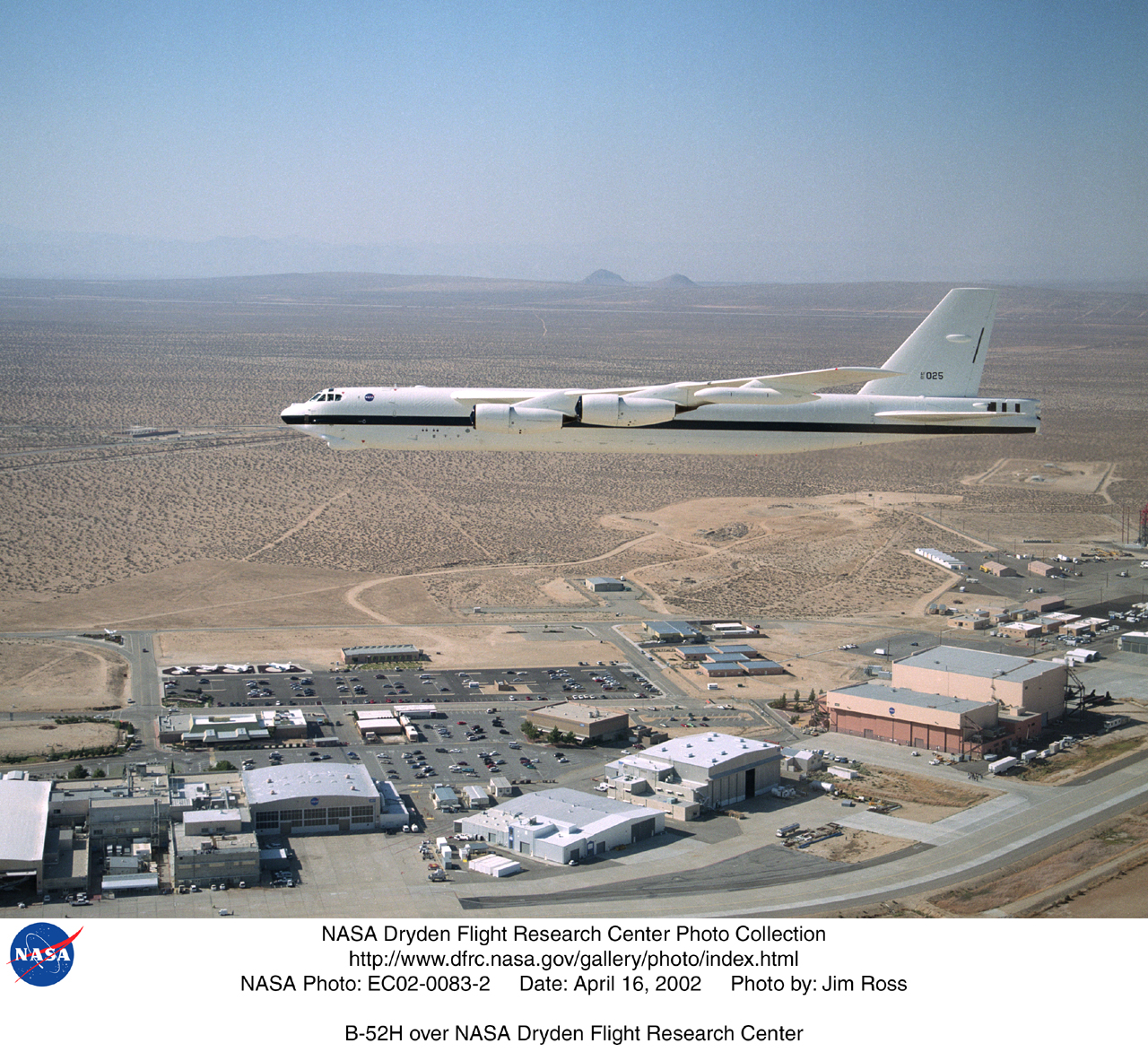 NASA Dryden B-52 Mothership Photo Collection
