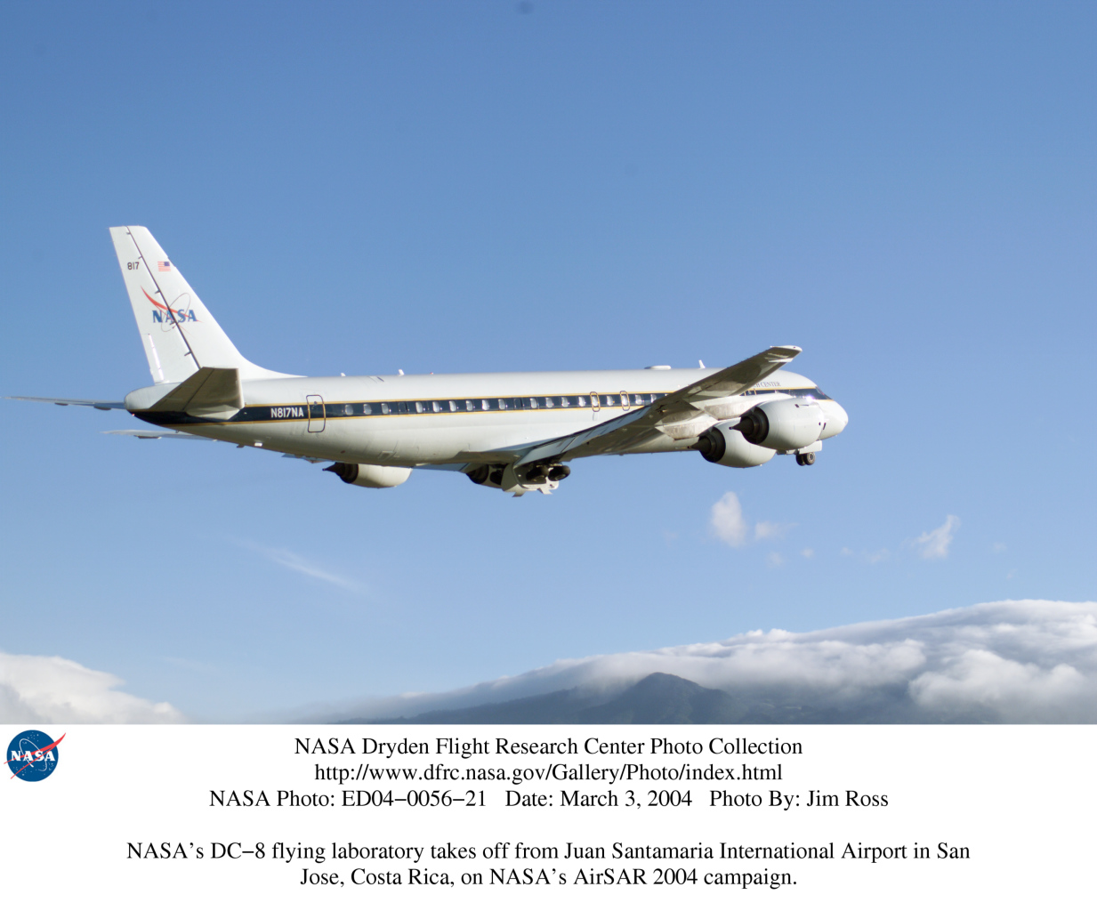 NASA Dryden DC-8 Photo Collection
