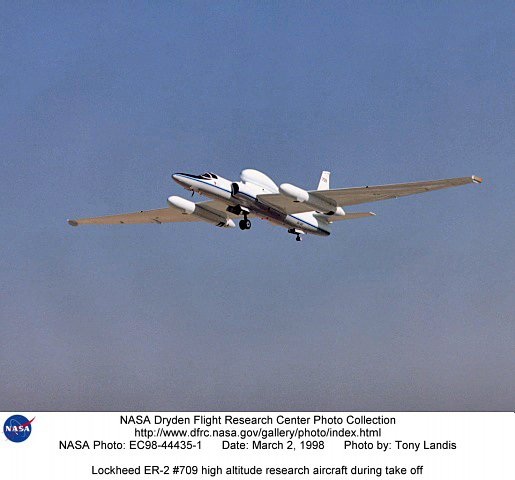 NASA High Altitude Aircraft  Pics about space
