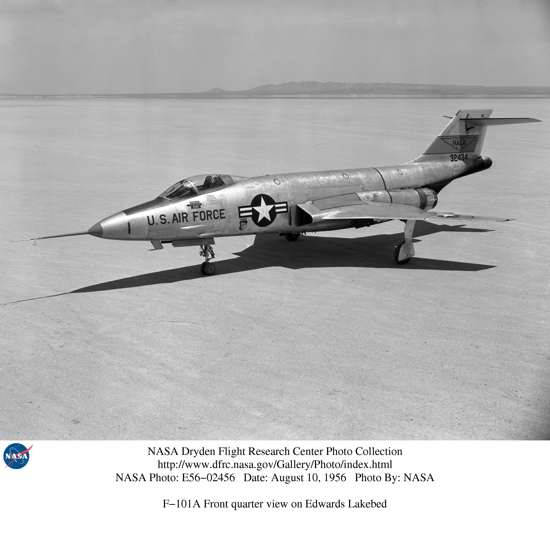 Nasa Dryden F 101 Voodoo Aircraft Photo Collection