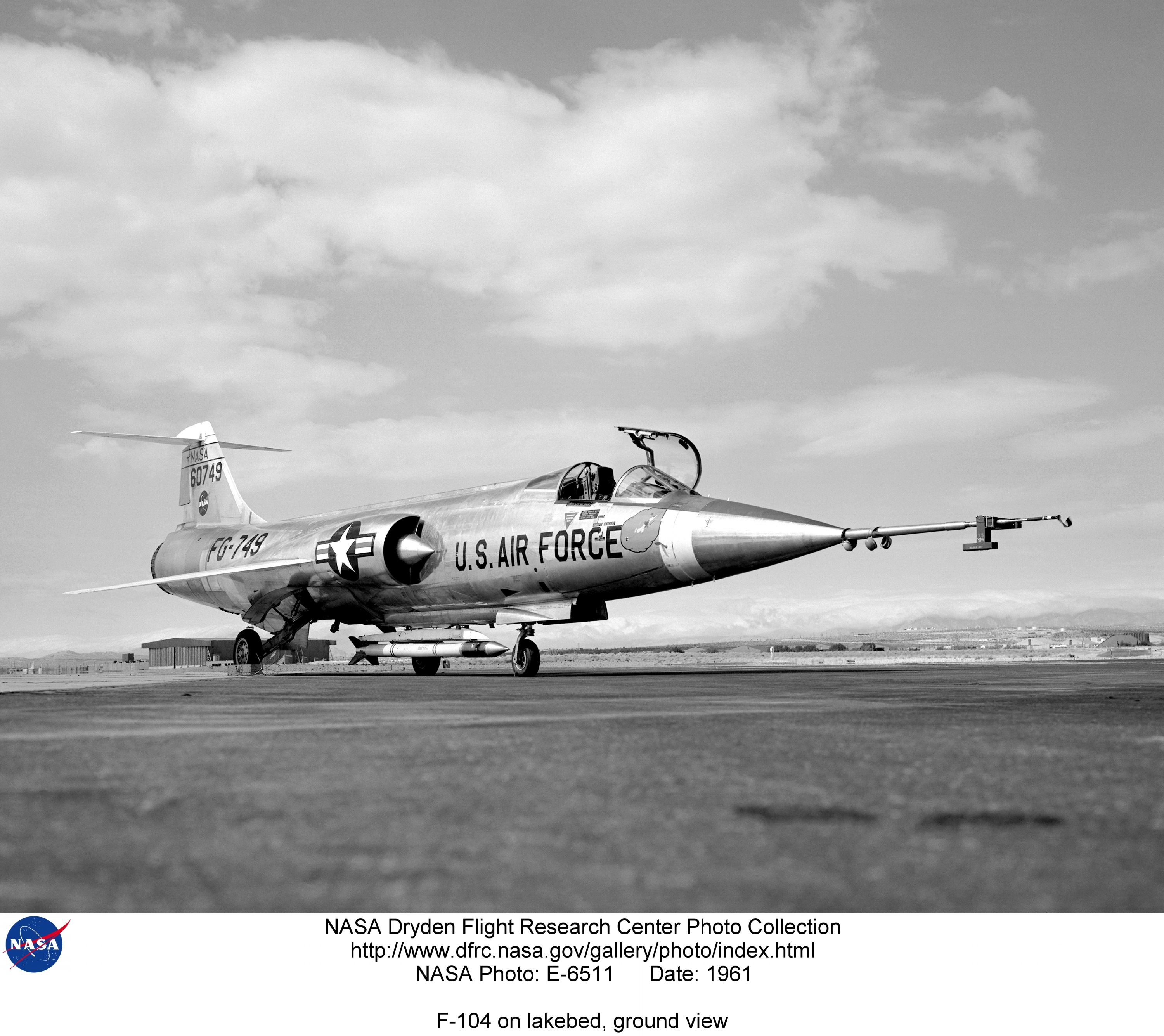 f 104 nasa dryden test fleet - photo #5