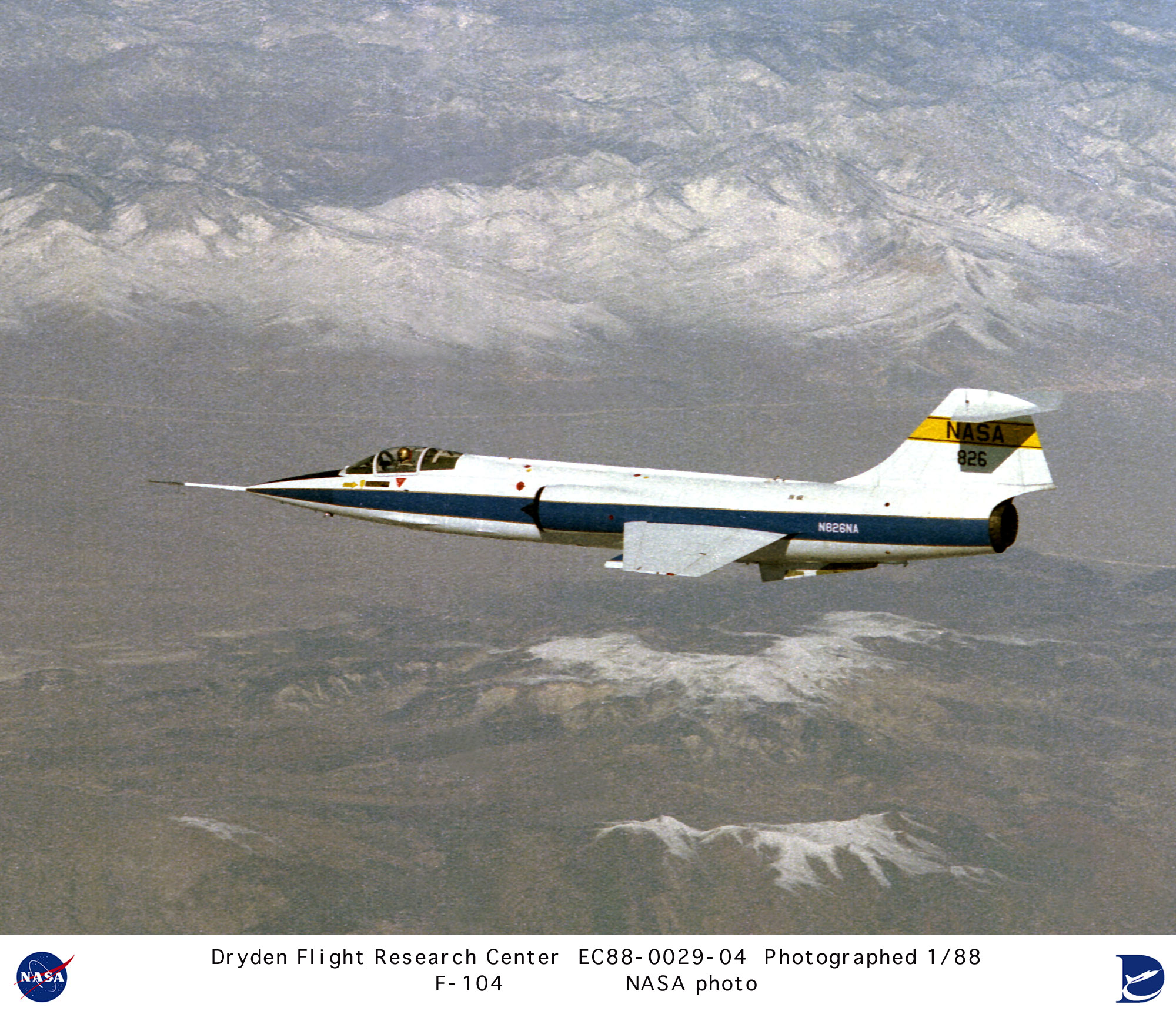 f 104 nasa dryden test fleet - photo #19