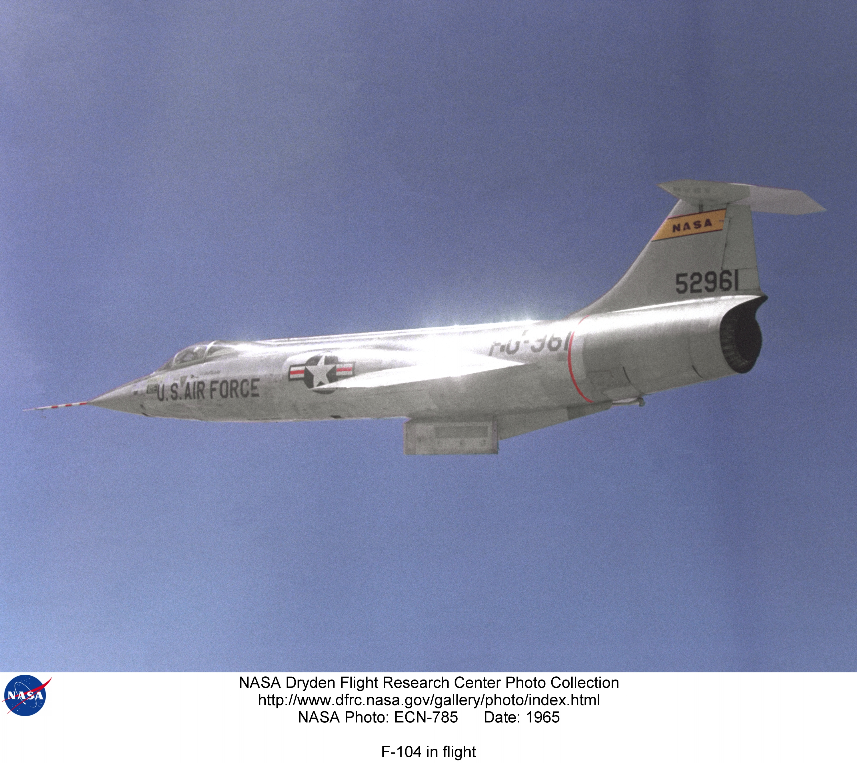 f 104 nasa dryden test fleet - photo #36