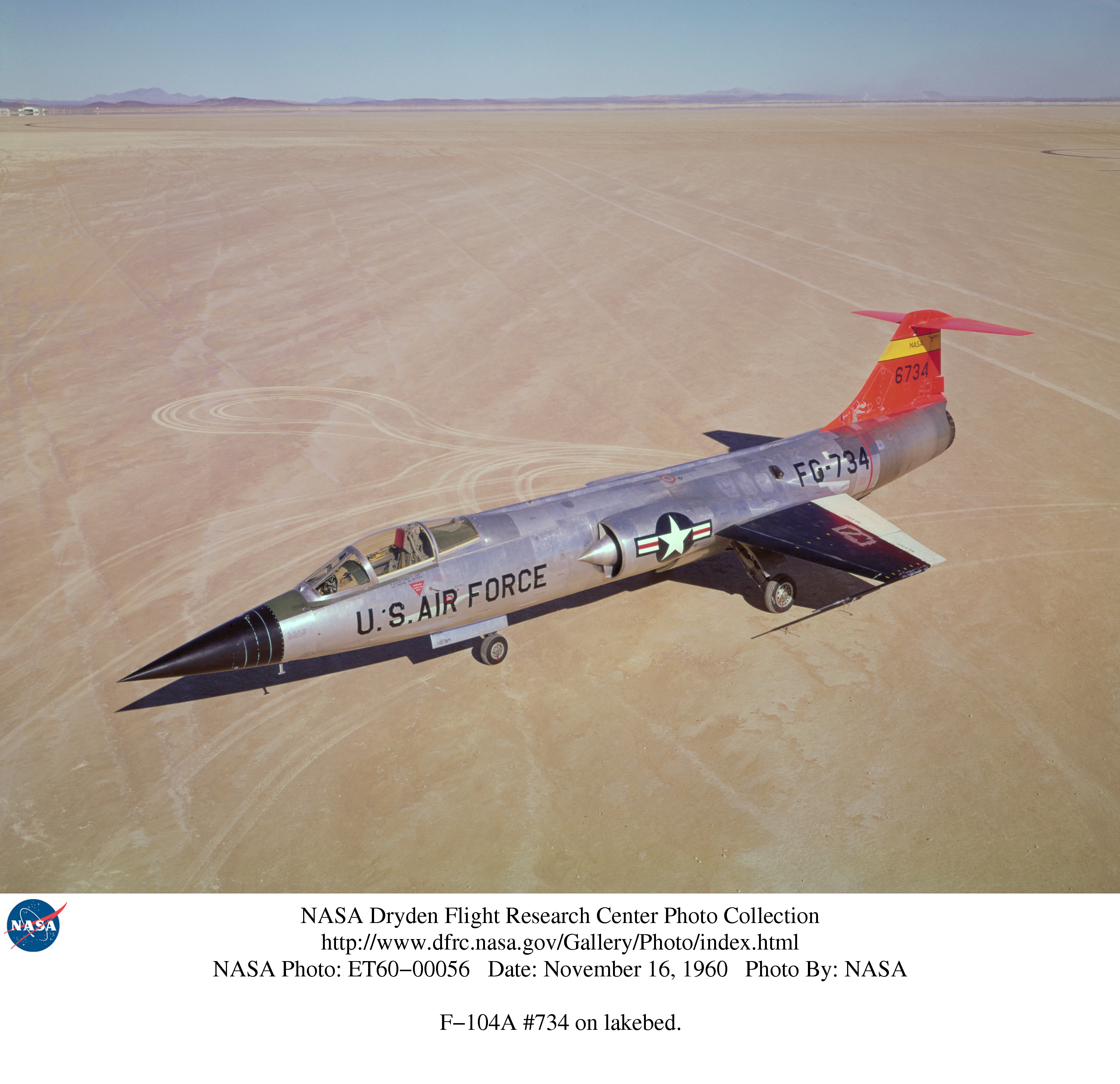 NASA Dryden F-104 - Pics about space