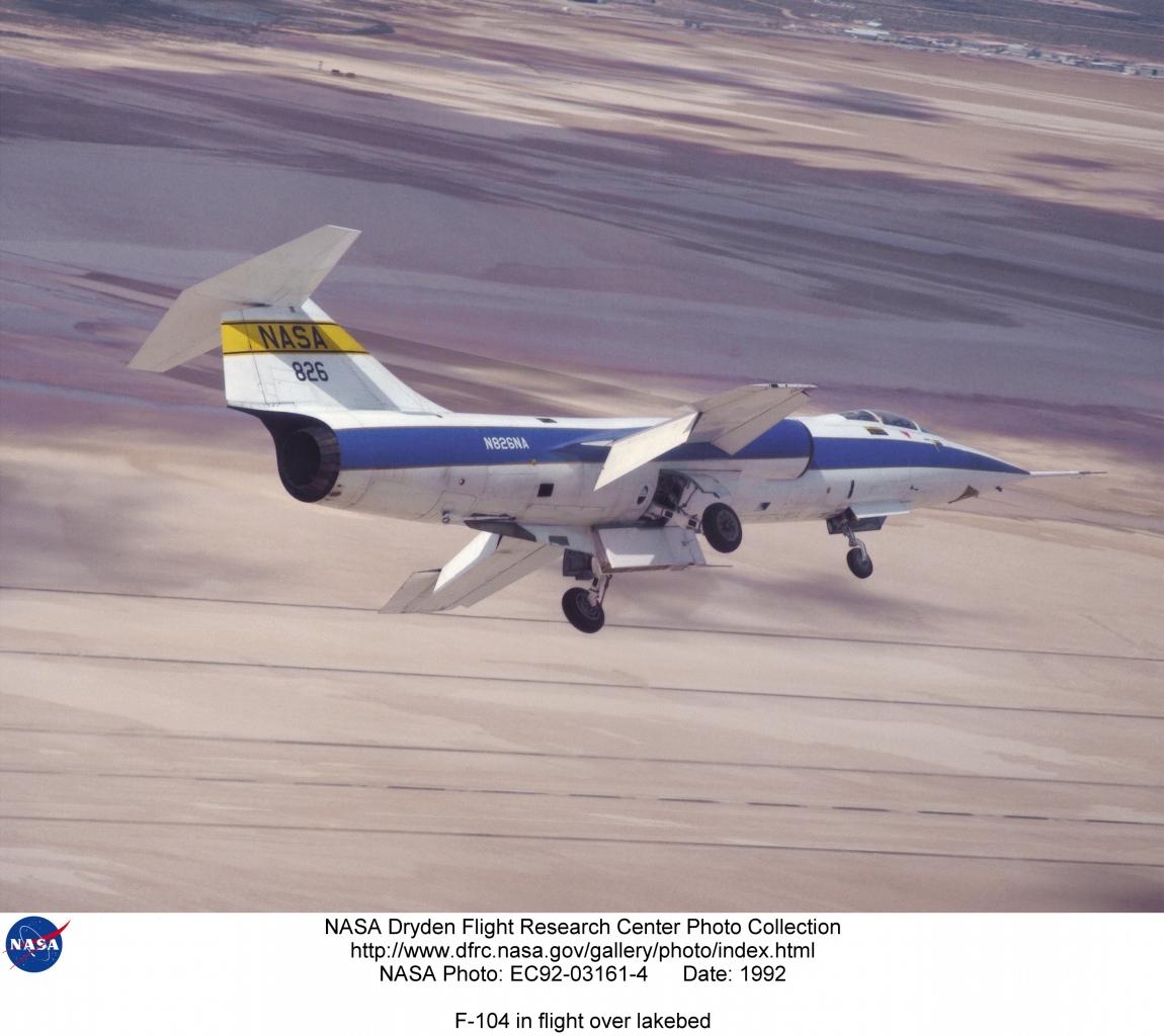 nasa f-104a - photo #27