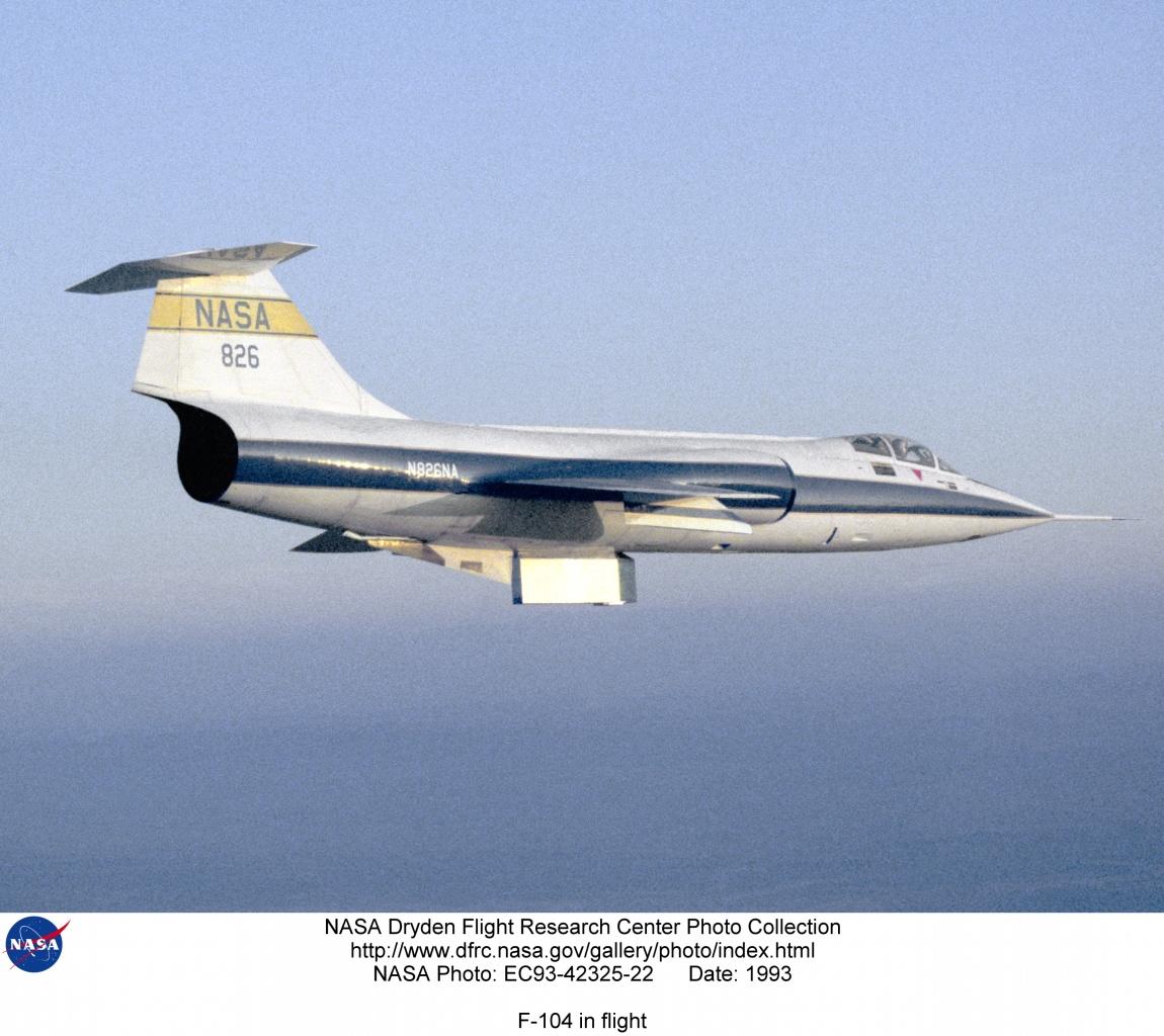 nasa f-104a - photo #45