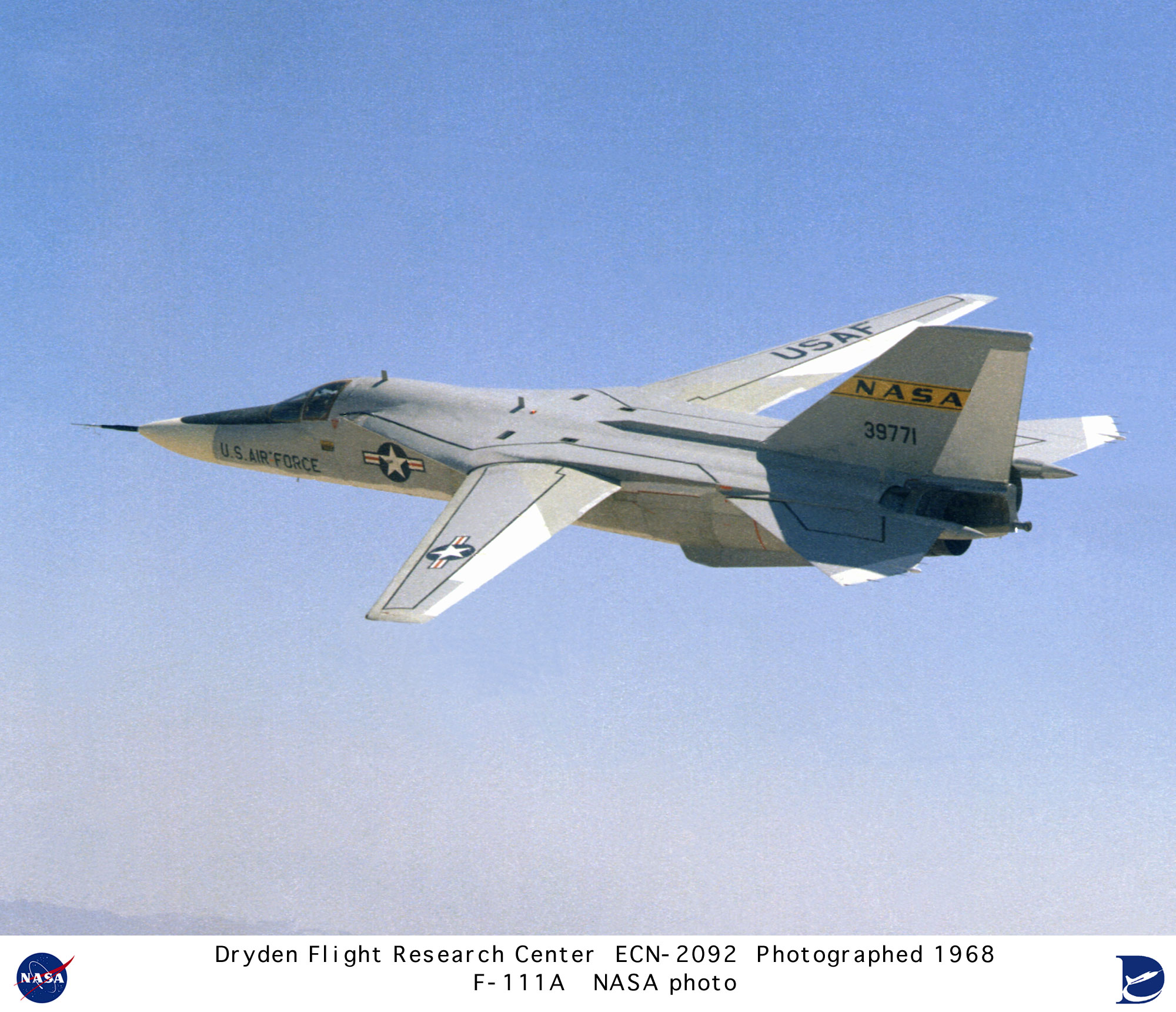 F-111A ECN-2092: F-111A in flight