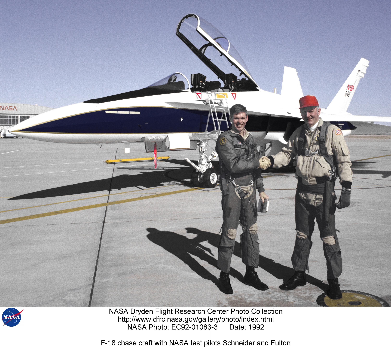 nasa f 18 pilot - photo #24