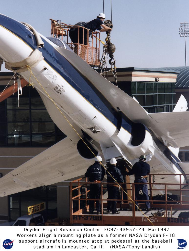 NASA Dryden F-18 Chase Aircraft Photo Collection