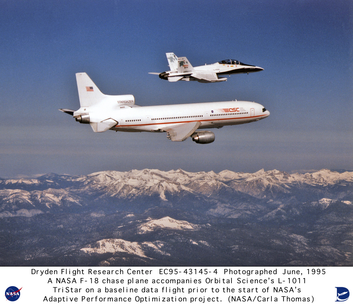 NASA Dryden L-1011 TristarPhoto Gallery Photo Gallery ...