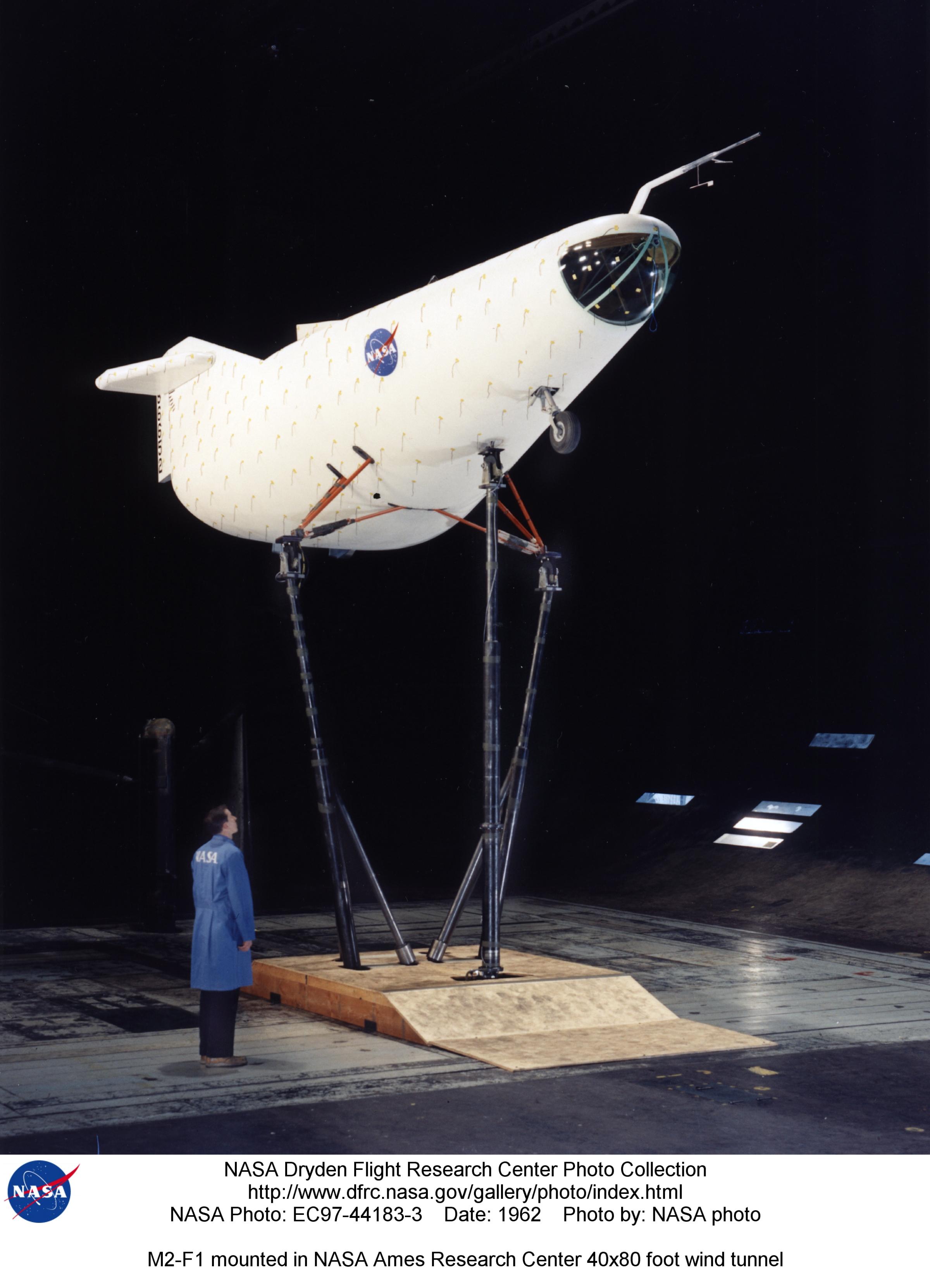 NASA Dryden M2-F1 Aircraft Photo Collection
