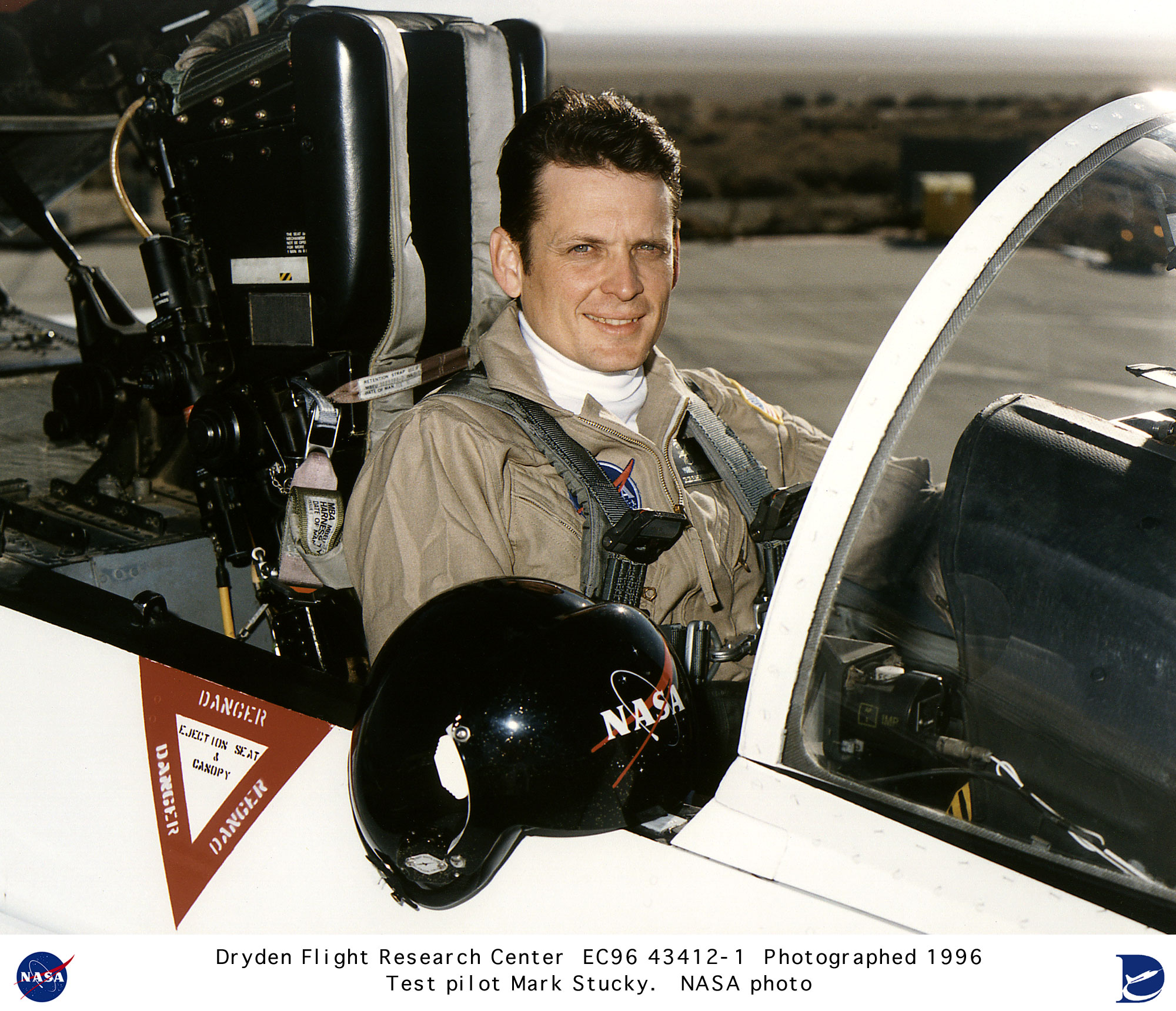 Pilots EC96-43412-1: Research pilot Mark Stucky