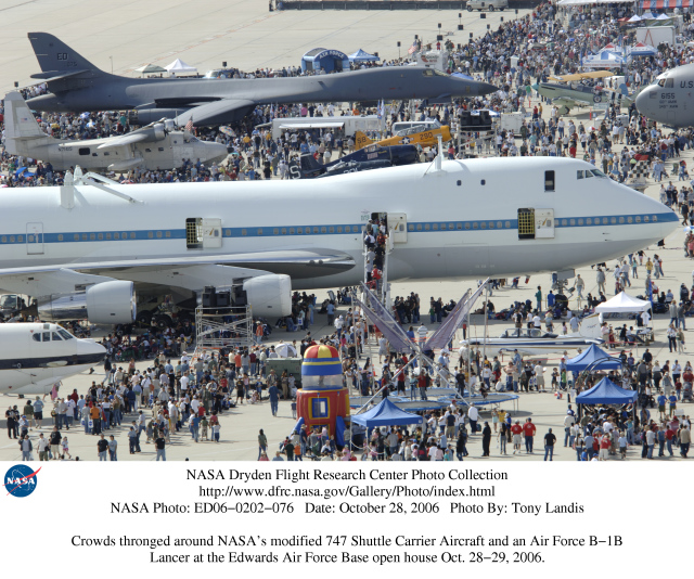 kelly afb space shuttle carrier aircraft - photo #42