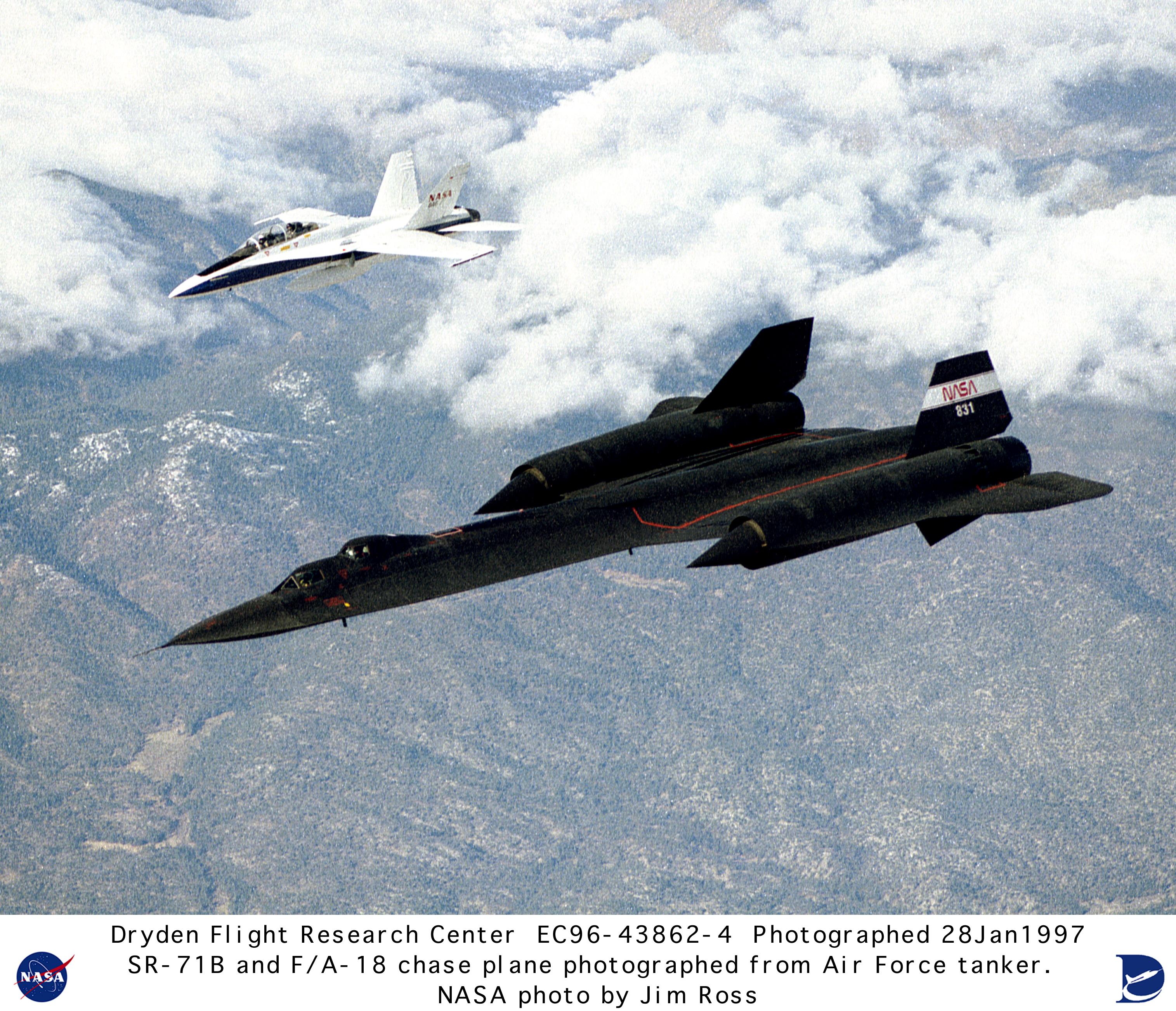 NASA Dryden SR-71 Photo Collection