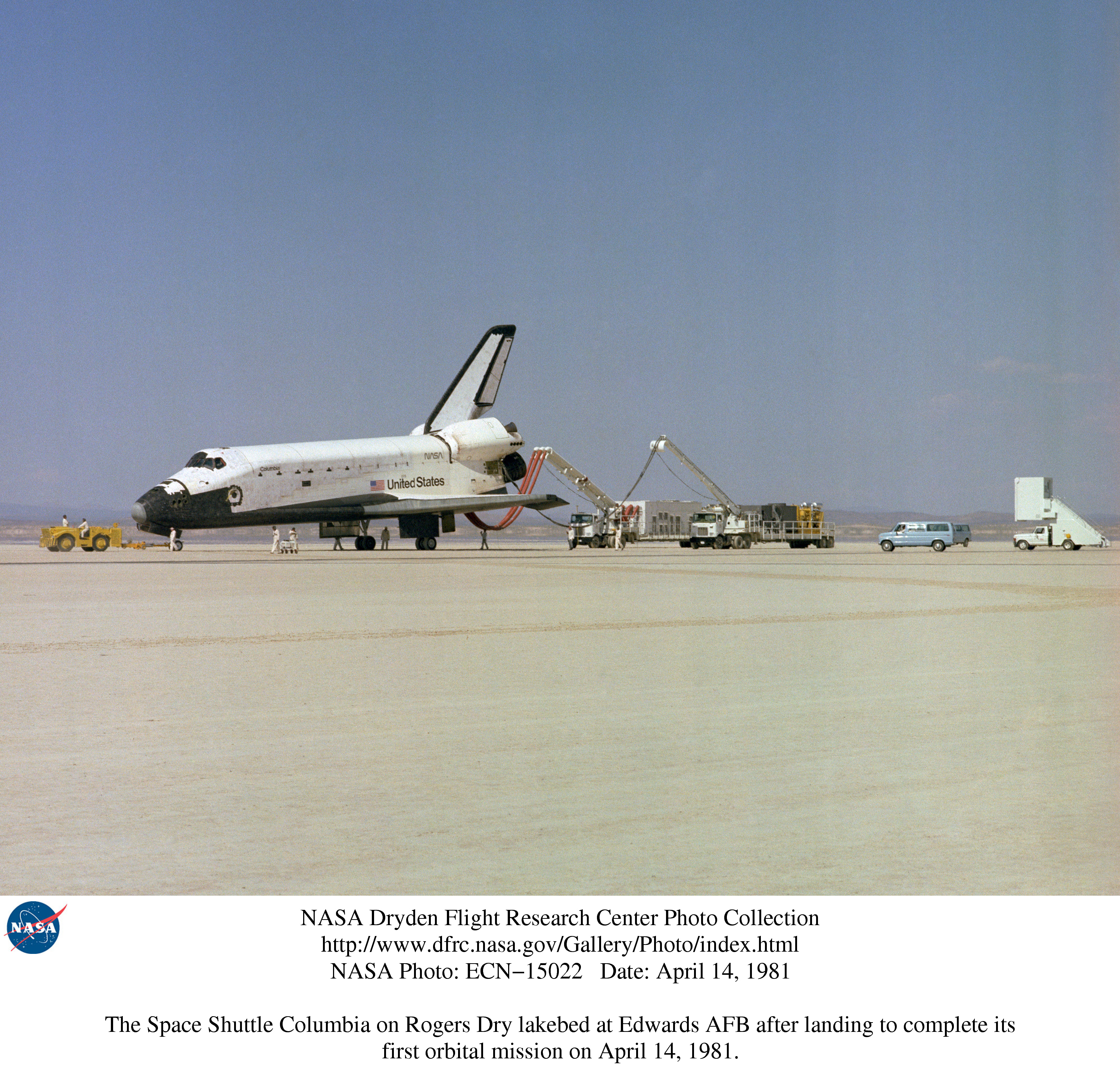 space shuttle after landing - photo #22