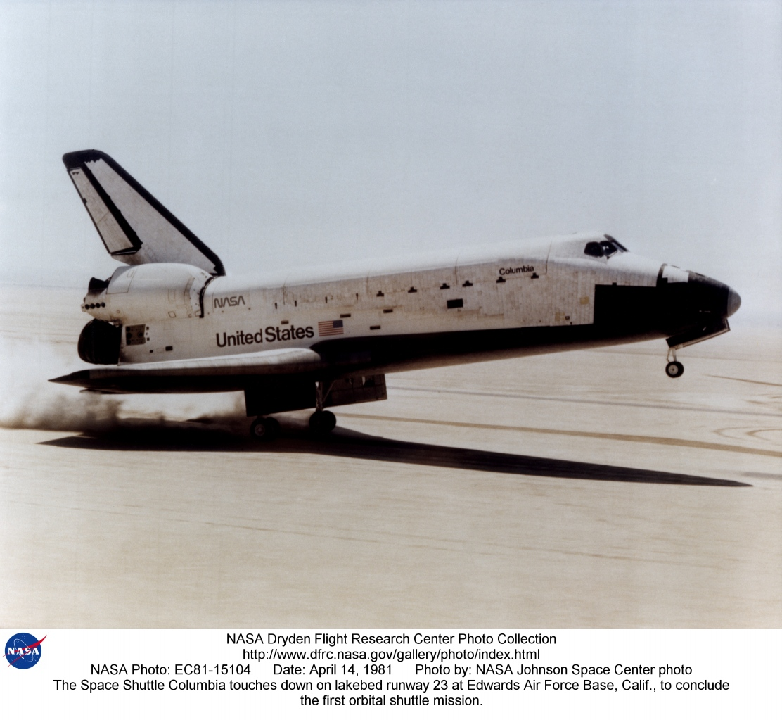 Space Shuttle STS-1