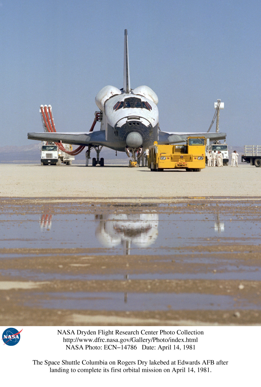 space shuttle after landing - photo #27