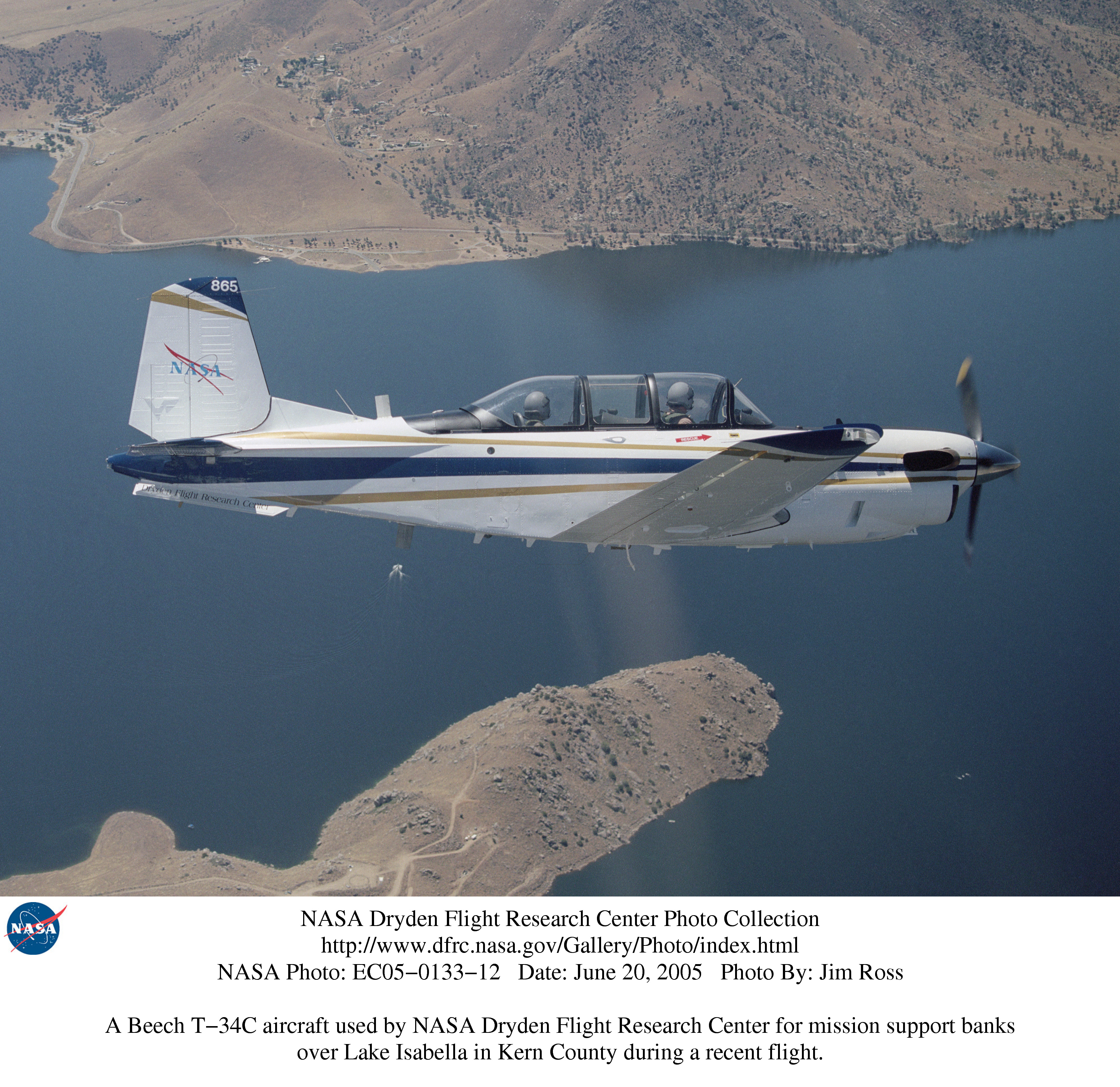Used Turboprop: NASA Dryden T-34C Photo Collection