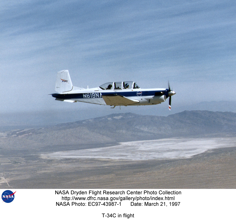 Used Turboprop: T-34C EC97-43987-1: T-34C In Flight
