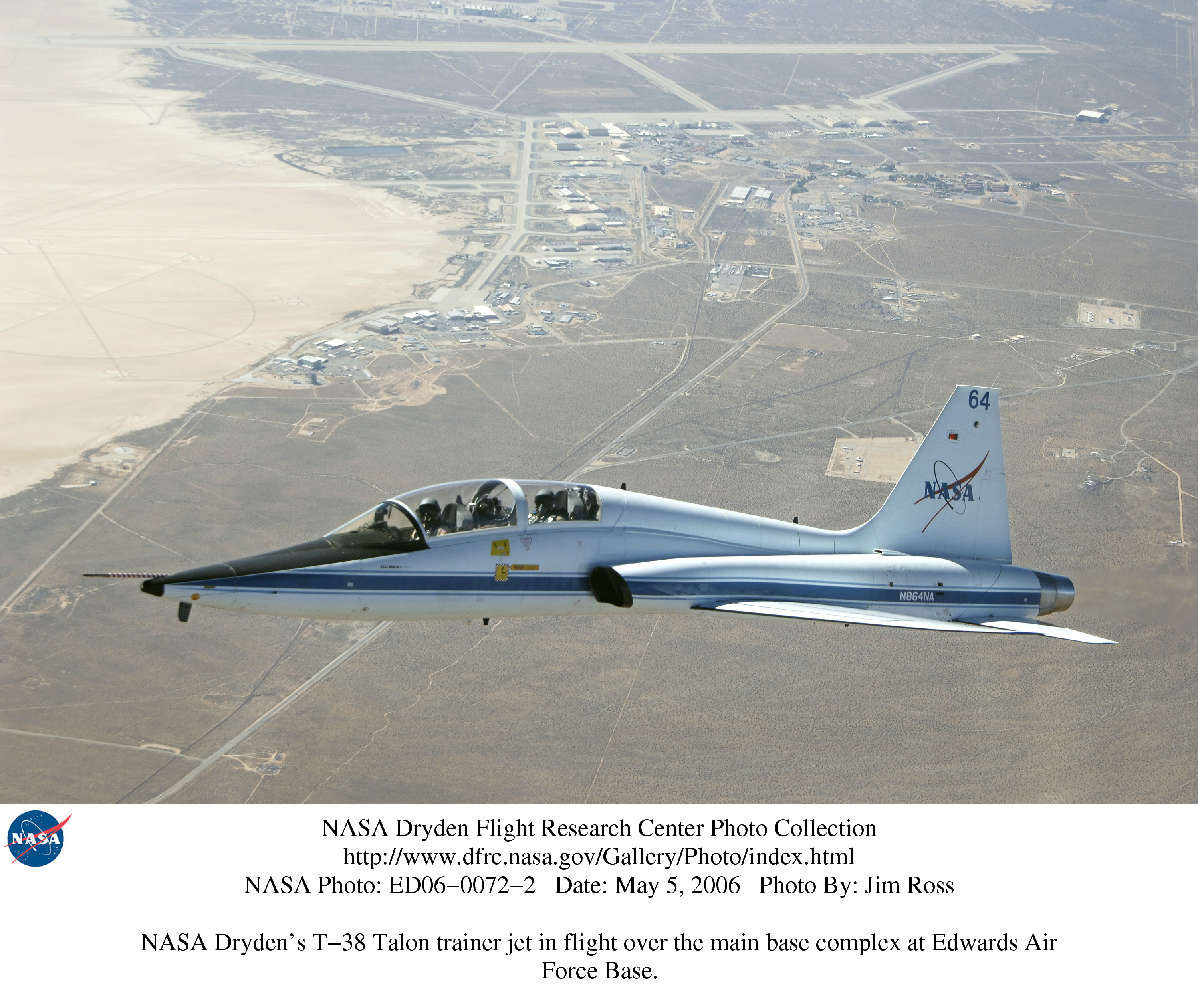 NASA Dryden T-38 Photo Collection