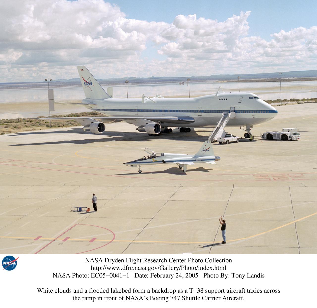 NASA Dryden T-38 Photo Collection