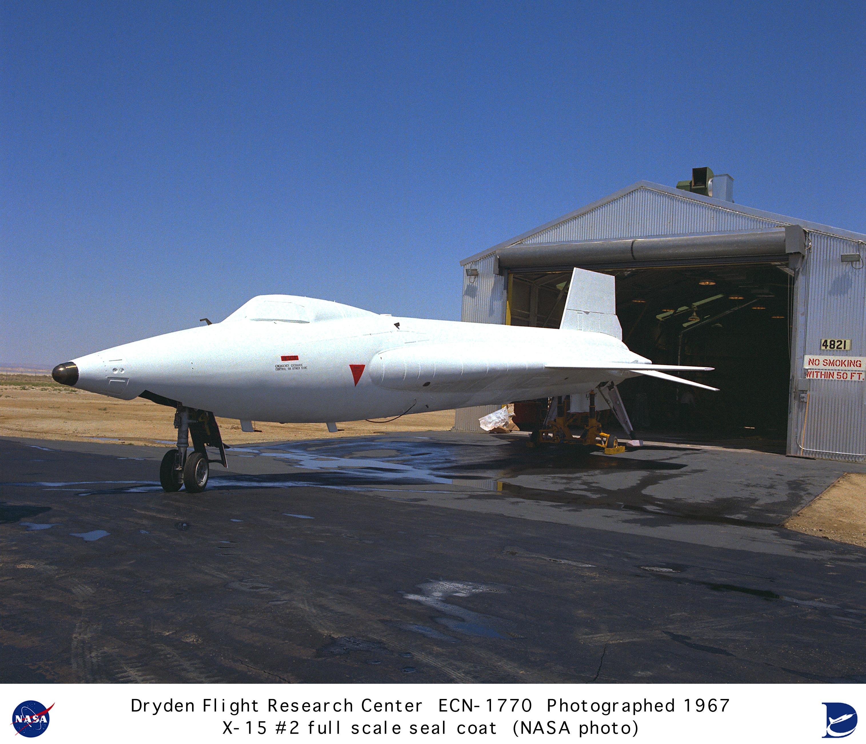 X-15 ECN-1770: X-15A-2 with ablative coating and sealant ...  X-15 ECN-1770: ...