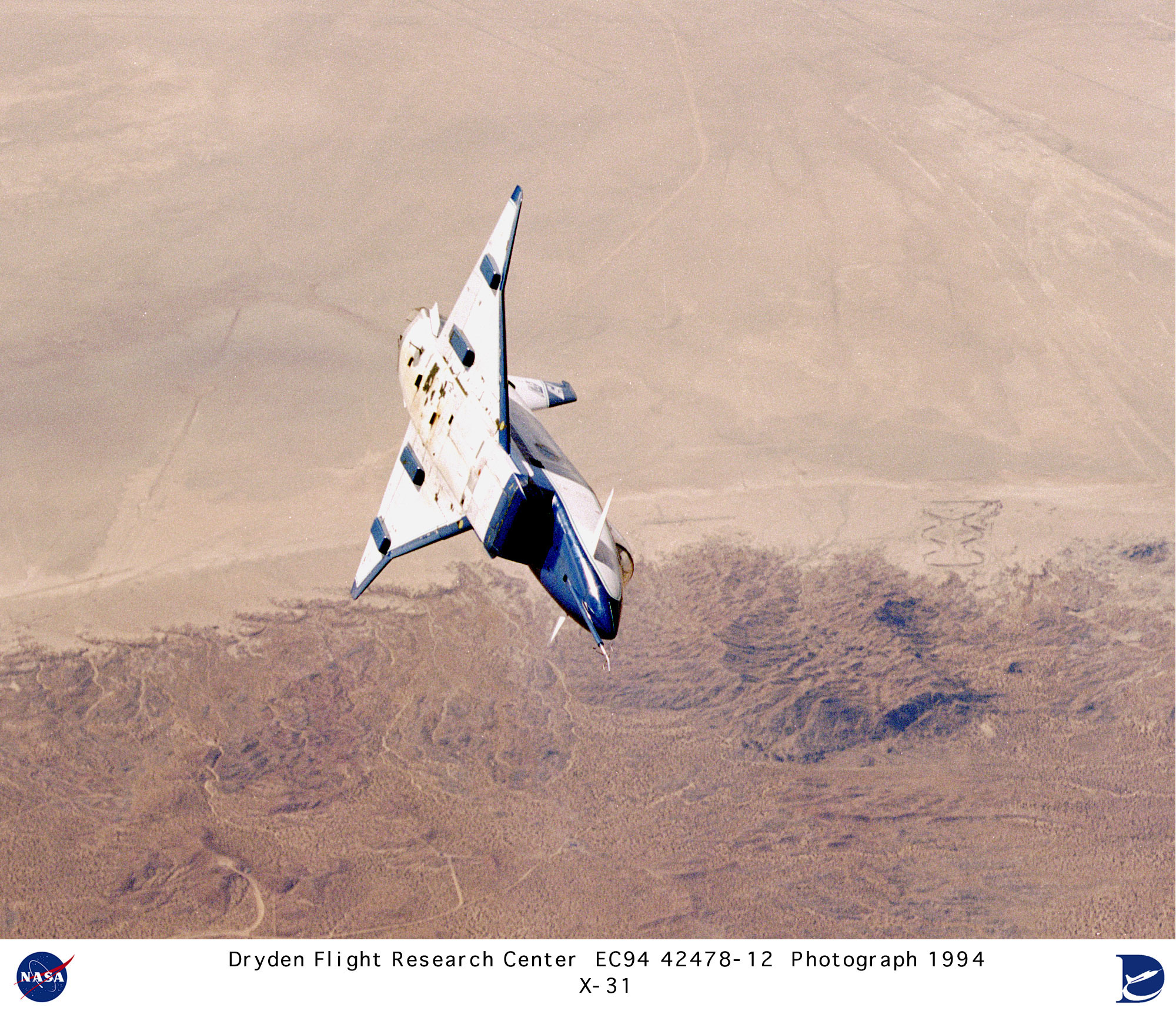 Picture Of Room Nasa Dryden X 31 Enhanced Fighter Maneuverability