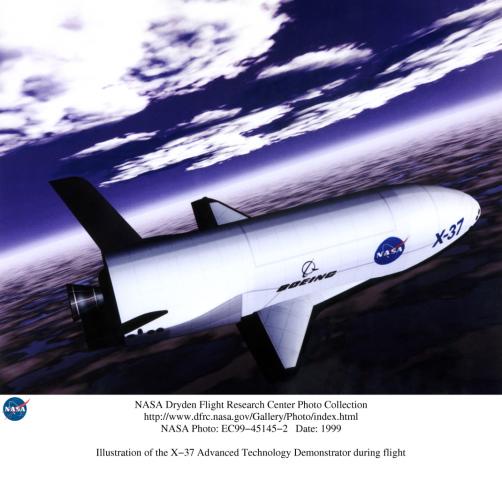 lancement Atlas V et retour sur terre X-37B (22/04/2010-03/12/2010) EC99-45145-2