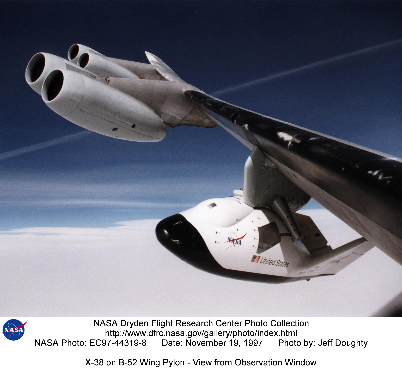 NASA Dryden X38 Photo Collection