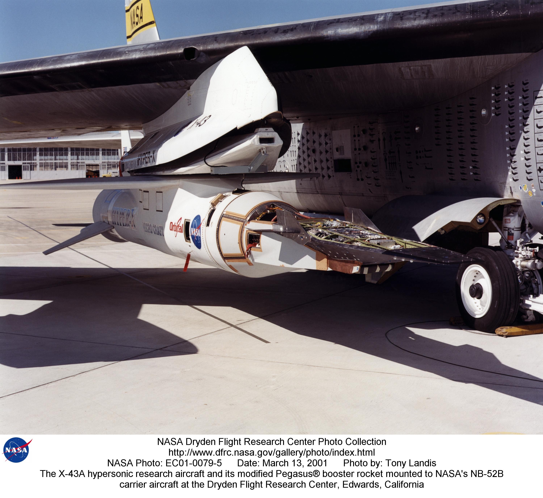 nasa x 43a hypersonic takes flight - photo #8