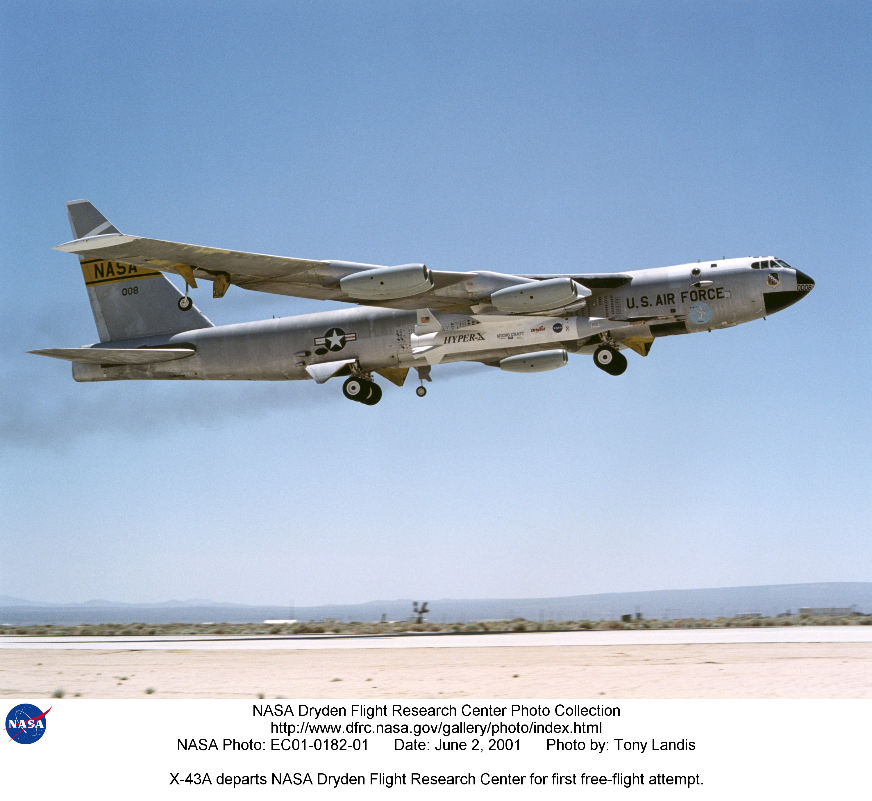 nasa x 43a hypersonic takes flight - photo #19