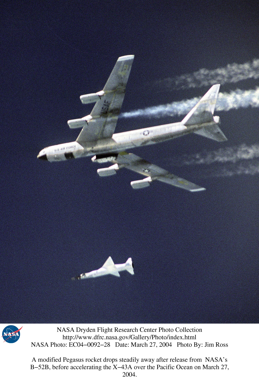 nasa x 43a hypersonic takes flight - photo #25