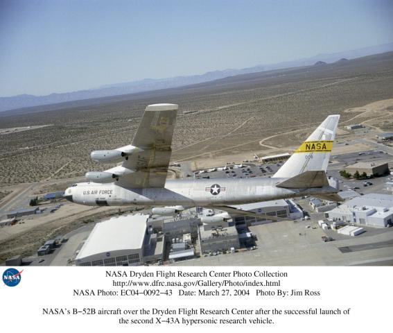 nasa x 43a hypersonic takes flight - photo #24