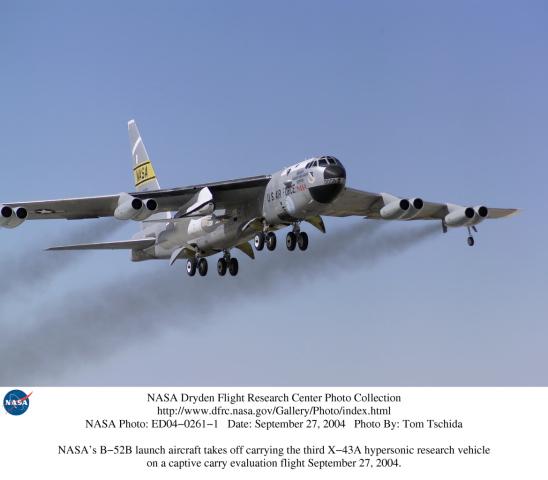 nasa x 43a hypersonic takes flight - photo #7