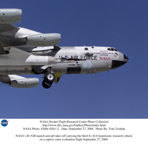 nasa x 43a hypersonic takes flight - photo #9